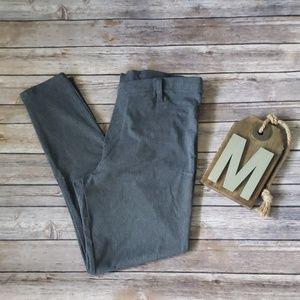 Faded Glory gray tweed patterned leggings